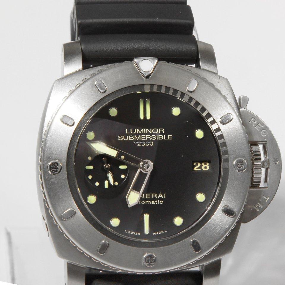 Panerai Submersible 1950 3 Days Automatic Titanio PAM 364 / PAM00364