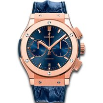 Hublot Rose gold Automatic Blue new Classic Fusion Blue