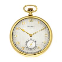 Movado Montre occasion 1901 Or jaune 48,60mm Arabes Remontage manuel Montre uniquement