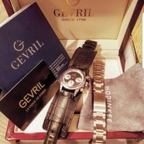 Gevril Steel 37mm Automatic R004/2 pre-owned