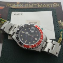 Rolex GMT-Master II Otel 40mm Negru Fara cifre
