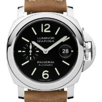 Panerai Luminor Marina Automatic Steel 44mm Black Arabic numerals United States of America, New York, New York