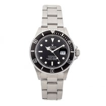 Rolex 16800 Steel Submariner Date 40mm pre-owned United States of America, Pennsylvania, Bala Cynwyd