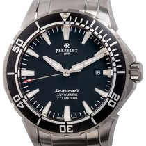 Perrelet Steel 42mm Automatic A1053/B new