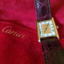 Cartier 590005 Yellow gold Tank Vermeil 23mm pre-owned