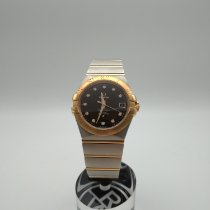 Omega Constellation Ladies Золото/Cталь 35mm Чёрный Россия, Санкт-Петербург
