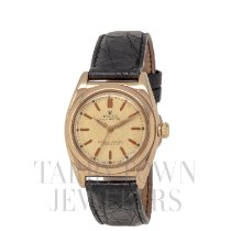 Rolex Bubble Back Rose gold 32mm Champagne