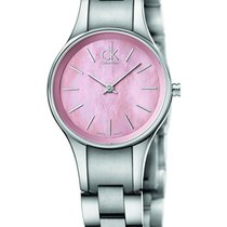 ck Calvin Klein Steel 28mm Quartz K432314E new