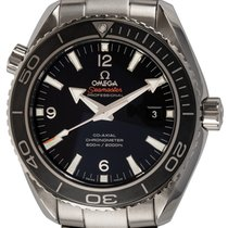 Omega Seamaster Planet Ocean 232.30.46.21.01.001 2014 pre-owned