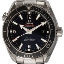 Omega Seamaster Planet Ocean Сталь 45mm Чёрный