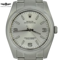 Rolex Oyster Perpetual 36 pre-owned 36mm Silver Steel