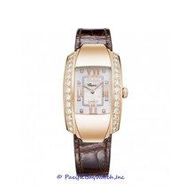 Chopard Rose gold Quartz White Roman numerals 26mm new La Strada