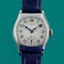 Elgin White gold 30.3mm Manual winding pre-owned United States of America, California, Los Angeles