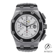 Audemars Piguet Royal Oak Offshore Chronograph Titanium 45mm Silver No numerals United States of America, New York, New York