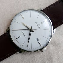 Junghans Meister Classic Steel 38,4mm Silver No numerals