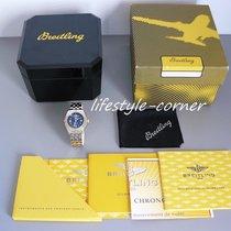 Breitling Wings Lady mit Goldlünette & Pilotband - Box...