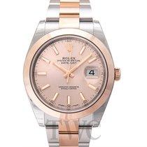 Rolex 126301 Oro rosa Datejust 41mm nuevo