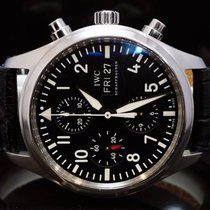 IWC 2010 Pilot Chronograph, IW371704, Box & Papers