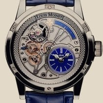 Louis Moinet Limited Edition. 20 Second Tempograph Deep Blue