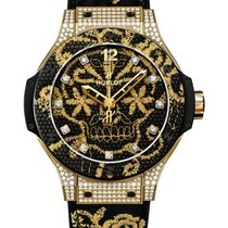 Hublot 343.VX.6580.NR.0804 Big Bang Broderie 41mm Automatic in...