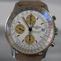 Breitling Navitimer - Two-Tone Rare - Excellent Free US Shipping