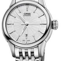 Oris Artelier Date Steel 31mm Silver United States of America, New York, Airmont