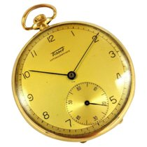 Tissot Pocket Watch (0.585) 14 K Solid Yellow Gold 52.80 GR