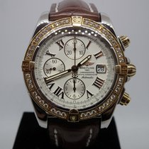 Breitling Chronomat Evolution C13356 Very good Gold/Steel 44mm Automatic
