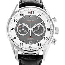 TAG Heuer Carrera Calibre 36 Steel 43mm Silver