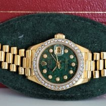 Rolex Lady-Datejust 26mm 18k Diamond Bezel/Dial