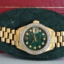 Rolex Lady-Datejust 26mm 18k Diamond Bezel/Dial
