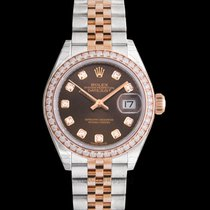 Rolex Rose gold Automatic new Lady-Datejust