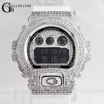 Casio Silber Quarz Silber 53mm neu G-Shock