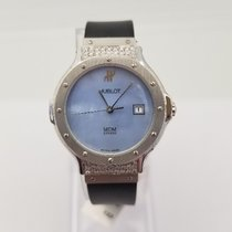 Hublot Classic Steel 28mm Mother of pearl No numerals