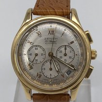 Zenith El Primero Chronograph Or jaune 38mm France, paris