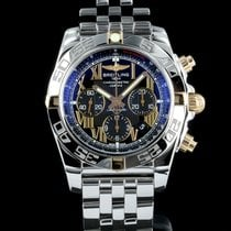 Breitling Chronomat 44 B01 steel gold box and papers 2013