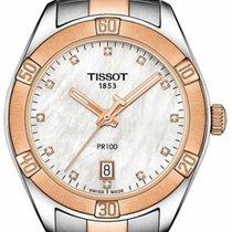 Tissot Quartz 2019 nieuw PR 100 Parelmoer