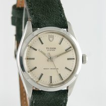 Tudor 34mm Manual winding 1985 pre-owned Silver