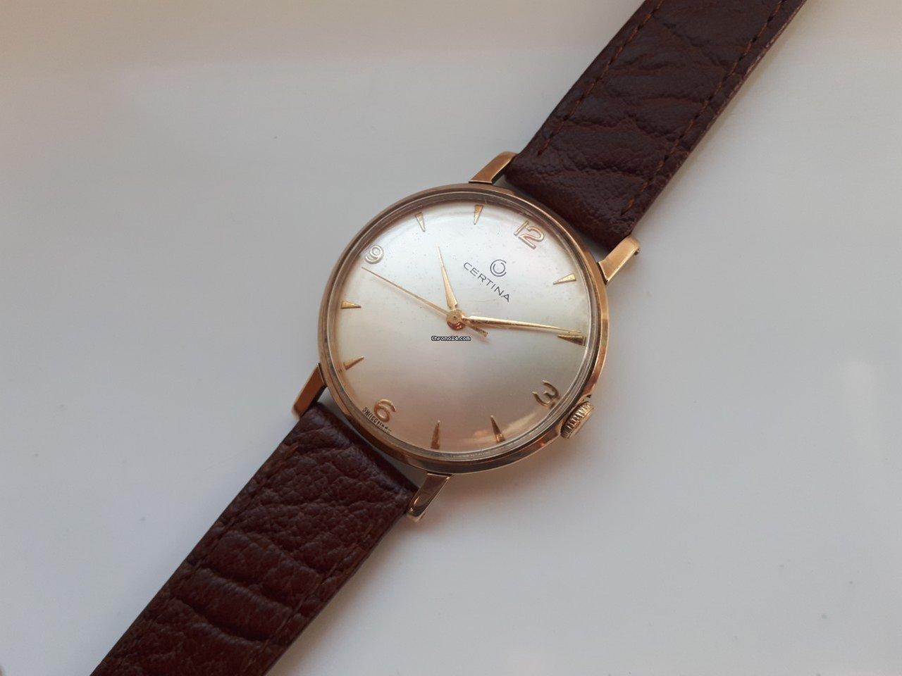 61e0245cb2c Comprar relógios Certina Ouro amarelo