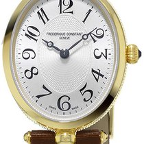 Frederique Constant Classics Art Deco Gold/Steel 25mm Silver United States of America, New York, Brooklyn