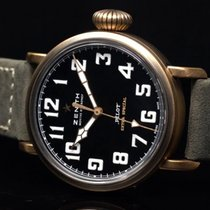 Zenith Pilot Type 20 Extra Special Bronce 40mm Negro Árabes