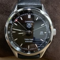 TAG Heuer Carrera Calibre 7 Steel 39mm Black No numerals Singapore, Singapore