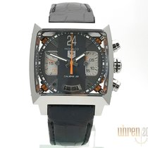TAG Heuer Monaco Calibre 36 Steel 40,5mm Grey No numerals