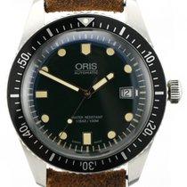 Oris Divers Sixty Five Steel 42mm Green No numerals United Kingdom, London