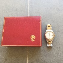 Tudor Prince Oysterdate Gold/Steel 34mm Silver No numerals
