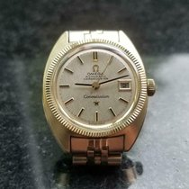 Omega Constellation Ladies pre-owned 24mm Silver Date Steel