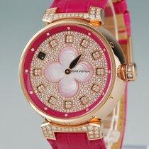 Louis Vuitton Oro rosado 39mm Cuarzo Q1EG30 usados