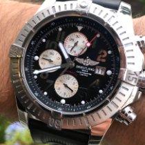 Breitling Super Avenger Steel 48mm Black Arabic numerals United States of America, Texas, Plano