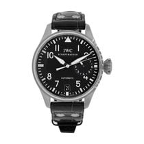 IWC Big Pilot Otel 46.2mm Negru Arabic