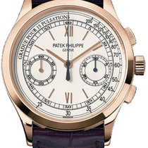 Patek Philippe Chronograph pre-owned 39mm Chronograph Crocodile skin
